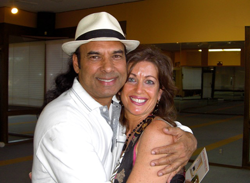 New Owner, Ann Marie Palma, with Bikram